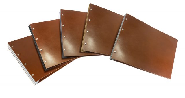 A3 Fc Pf Lnd Leather Binding Colours